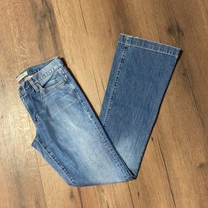 Gap Long and Lean Light Wash Boot Cut Jeans